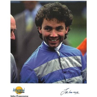 John Francome autograph