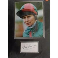 Willie Carson autograph 2
