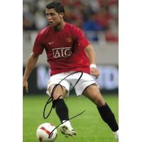 Cristiano Ronaldo autograph 2 (Man Utd; Portugal)