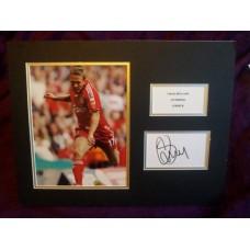 Craig Bellamy autograph (Liverpool; Wales)