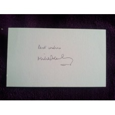 Mike Brearley autograph