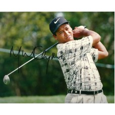 Michael Campbell autograph