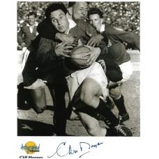Cliff Morgan autograph