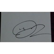 Matt Dawson autograph