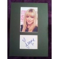 Fearne Cotton autograph (Celebrity Juice)