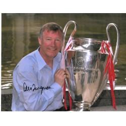 Alex Ferguson autograph