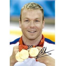 Chris Hoy autograph