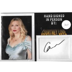 Courtney Love Autograph